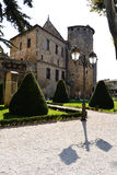 Werf van klooster in Narbonne Royalty-vrije Stock Foto's