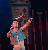 Werfen Sie die Gewehr Technologie-akrobatische showBaixi Traum-Nacht Stockbild