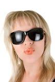 Werfen Sie einen Kuss Lizenzfreies Stockfoto