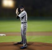 Werfer-Baseball-Spieler Stockfotos