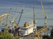 Werft Lizenzfreies Stockfoto
