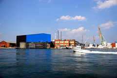 Werft Stockfotos