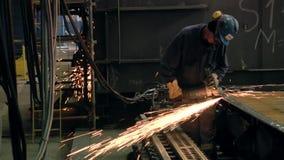Werft stock video
