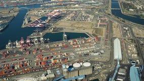 Werft-Antenne stock video footage