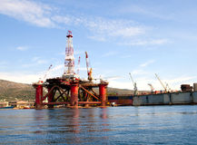 Werft in Trogir Lizenzfreies Stockfoto