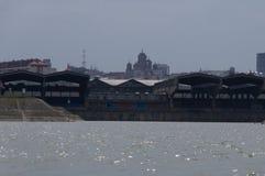 Werft von Belgrad Stockfoto