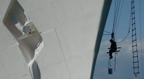 Werftarbeiten Stockbild