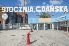 Werfte Gdansk Polen Europa Lizenzfreie Stockbilder