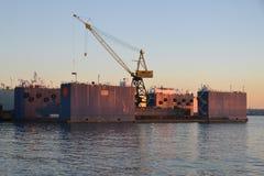 Werfte in Vancouver Lizenzfreie Stockfotografie