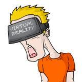 Werkelijkheids virtuele visie Royalty-vrije Stock Afbeelding