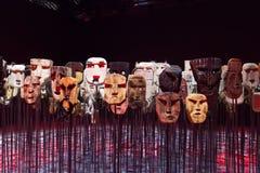 Werken Chilijskim artystą Bernardo Oyarzun Obrazy Royalty Free