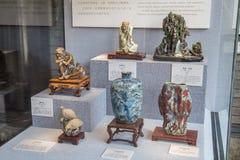 Werken van de Shiwan de ceramische kunst in Guangdong, Foshan Royalty-vrije Stock Afbeeldingen