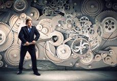 Werkend mechanisme Royalty-vrije Stock Afbeelding