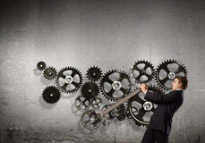Werkend mechanisme Royalty-vrije Stock Foto