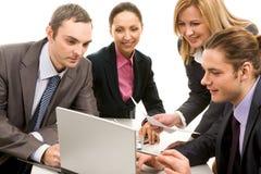 Werkend team Royalty-vrije Stock Afbeelding