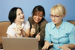 Werkend team Stock Foto