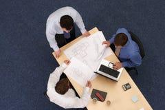 Werkende bedrijfsmensen Stock Foto's
