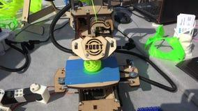 Werkende 3D Printer 4K stock footage