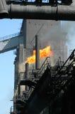 Werkende fabriek stock fotografie