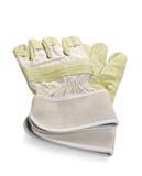 Werkende handschoenen stock foto's