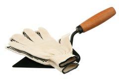 Werkende handschoenen Royalty-vrije Stock Foto