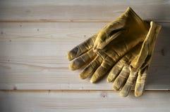 Werkende handschoenen Stock Afbeelding
