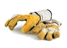 Werkende handschoenen Royalty-vrije Stock Afbeeldingen