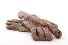 Werkende handschoenen Stock Fotografie