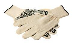 Werkende handschoenen royalty-vrije stock afbeelding