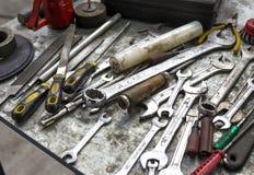 Werkende hulpmiddelen Stock Foto
