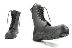 Werkende laarzen Royalty-vrije Stock Foto's