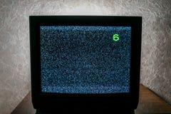Werkende niet TV royalty-vrije stock afbeeldingen