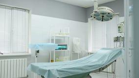 Werkende ruimte in een moderne kosmetische of dermatologische kliniek stock videobeelden