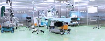 Werkende ruimte in het ziekenhuis Stock Afbeeldingen