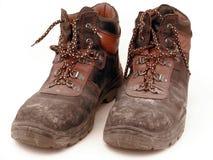 Werkende schoenen Stock Foto's