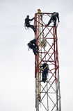 Werkende torens Royalty-vrije Stock Foto's