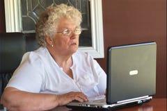 Werkende vrouw royalty-vrije stock fotografie