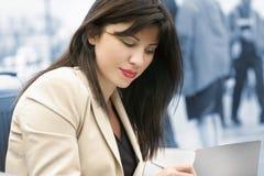 Werkende vrouw Stock Fotografie