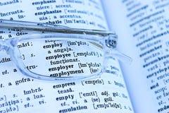 Werkgelegenheid Stock Foto