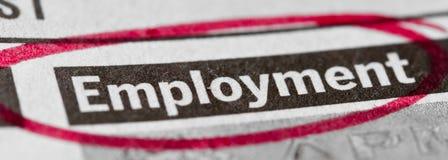 Werkgelegenheid Stock Fotografie