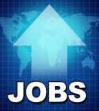Werkgelegenheid en nieuwe banen vector illustratie