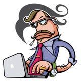 Werkgever Stock Foto's