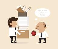 Werkgever en Werknemer Stock Fotografie