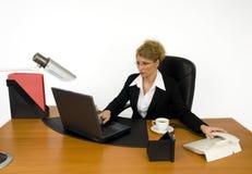 Werkgever op het werk. Royalty-vrije Stock Fotografie