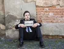 Werkloos royalty-vrije stock foto
