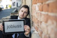 Werkloos royalty-vrije stock afbeelding