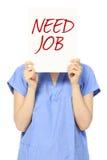 Werkloos stock fotografie