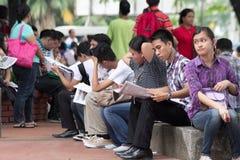 Werkloosheidskwestie Royalty-vrije Stock Fotografie