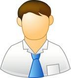 Werknemer stock illustratie