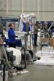 Werknemers in de werkplaats Royalty-vrije Stock Foto's